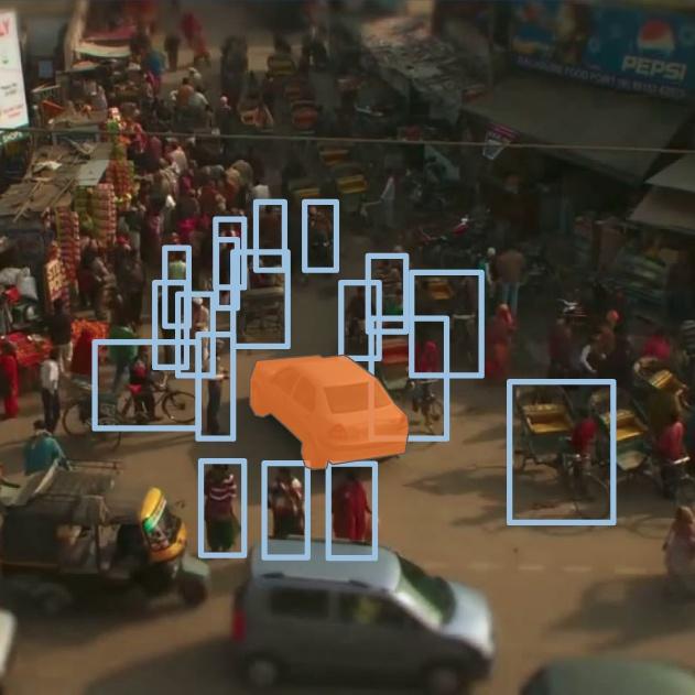 Autonomous Driving in Dense Traffic